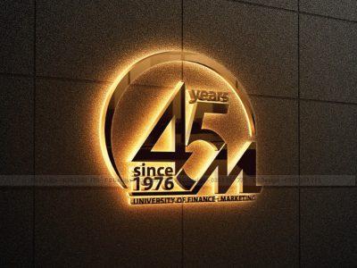 Thiết kế biểu trưng 45 năm UFM – FS Design